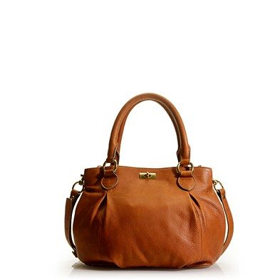 The Jcrew Brompton Hobo Bag In Henna Colored Leather