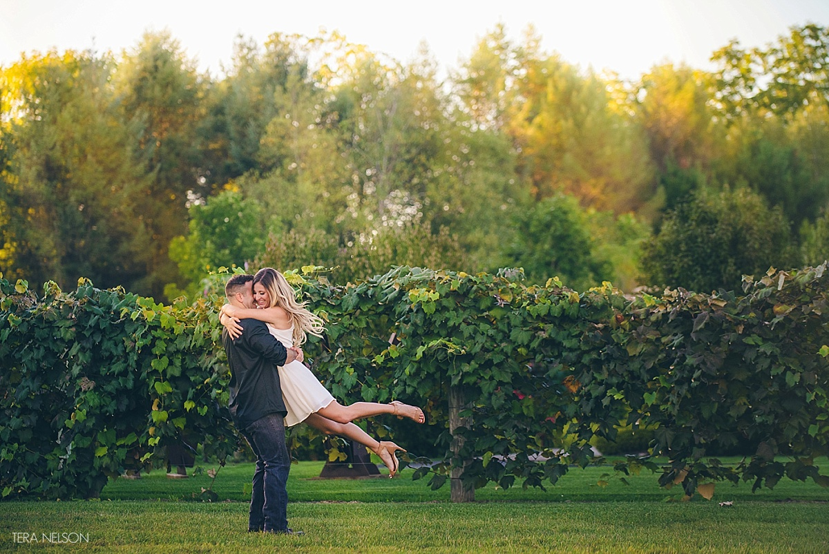 Penn State Wedding Gifts: Penn State Arboretum Engagement Session